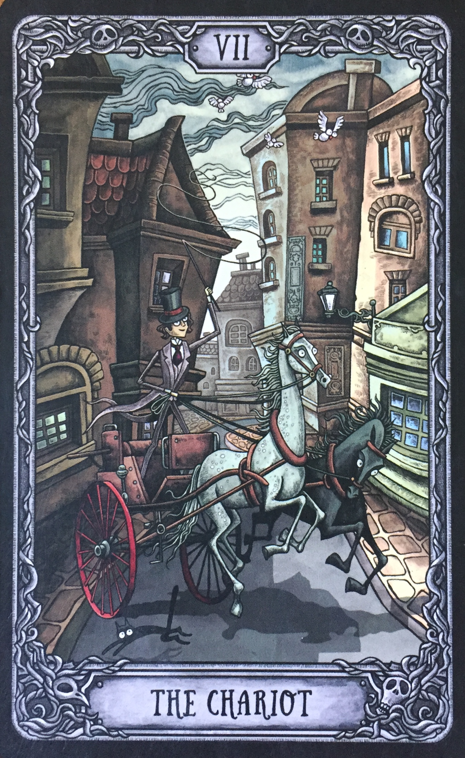 tarot card the chariot
