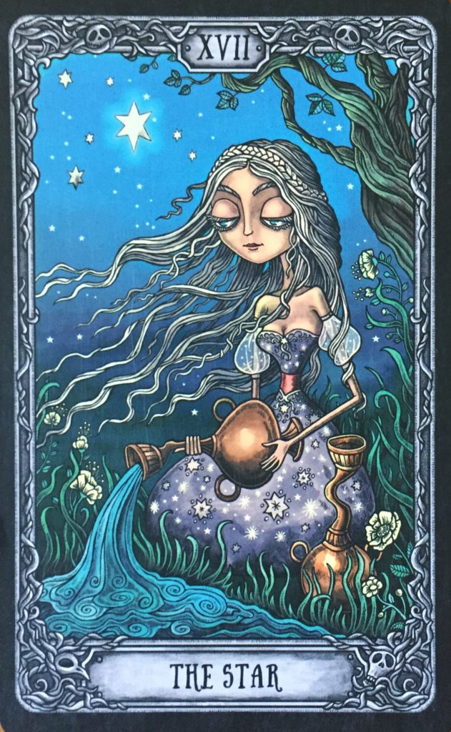 tarot card the star