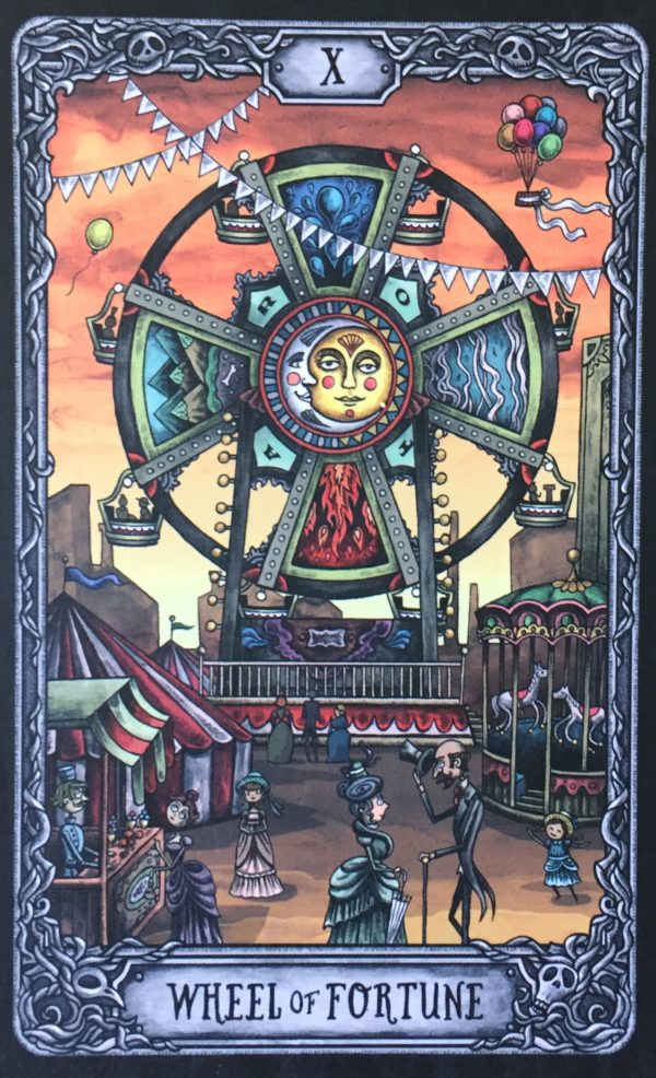 tarot card wheel of fortune