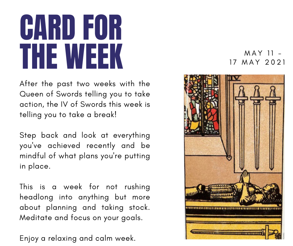 CARD FOR THE WEEK